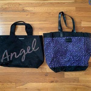 Two Victoria Secret Tote Bags